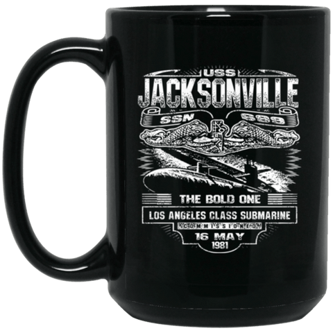 USS JACKSONVILLE SSN 699 Coffee Mugs