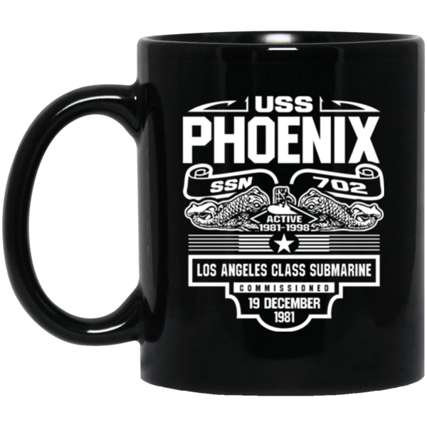 USS PHOENIX  SSN-702 Coffee Mugs