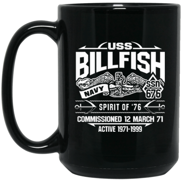 USS BILLFISH SSN-676 Coffee Mugs