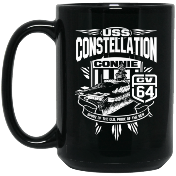USS CONSTELLATION CV-64 Coffee Mugs