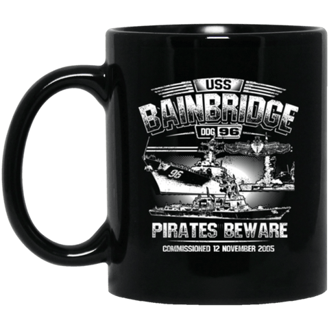 USS Bainbridge DDG 96 Coffee Mugs
