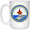 USS George H.W Bush CVN 77 Coffee Mugs