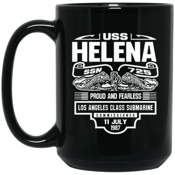 USS HELENA NEWS SSN-725 Coffee Mugs