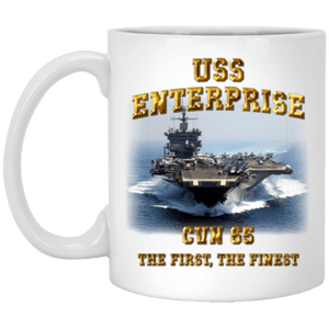 USS Enterprise CVN 65 Coffee Mugs
