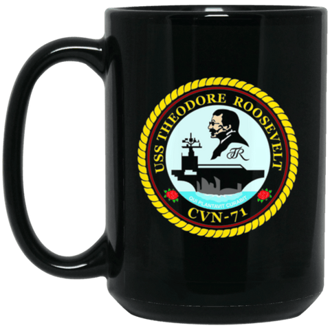 Image of USS Theodore Roosevelt CVN 71 Coffee Mugs