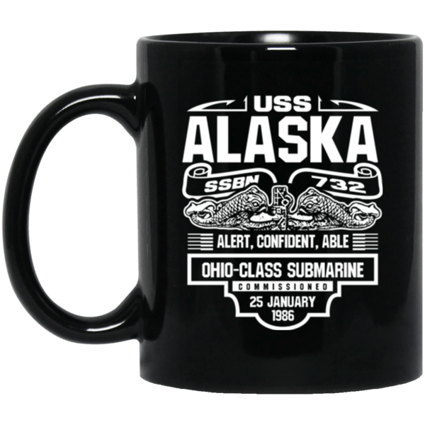 USS  ALASKA SSBN-732 Coffee Mugs