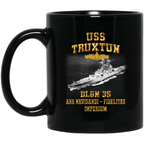 USS TRUXTUN DLGN 35 Coffee Mugs