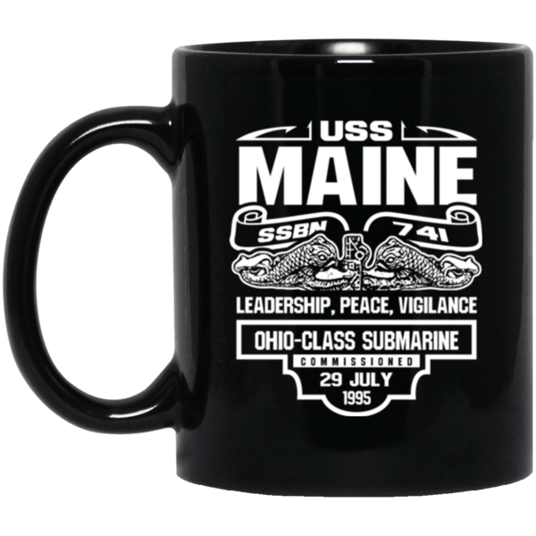USS Maine SSBN-741 Coffee Mugs