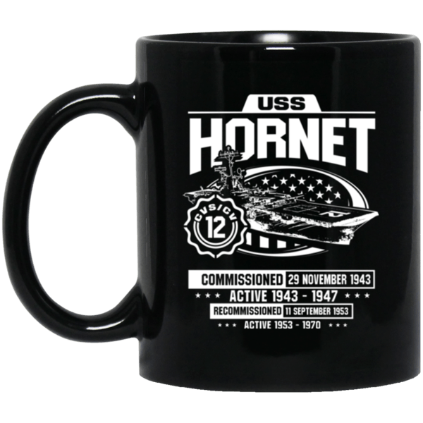 USS HORNET CVS/CV 12  Coffee Mugs