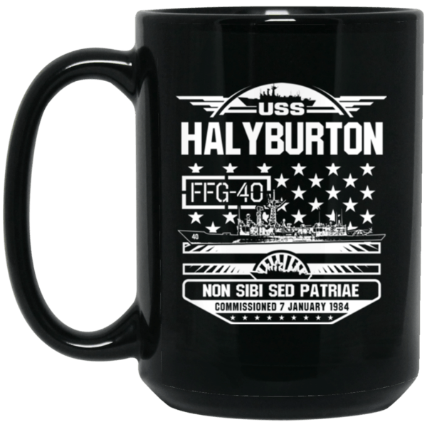 USS HALYBURTON FFG-40  Coffee Mugs
