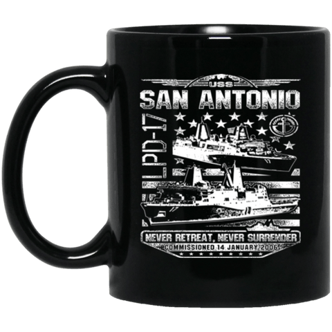 USS SAN ANTONIO LPD 17 Coffee Mugs