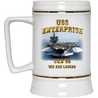 USS Enterprise CVN 65 We Are Legend Coffee Mugs