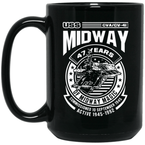 USS MIDWAY CVA/CV-41 Coffee Mugs