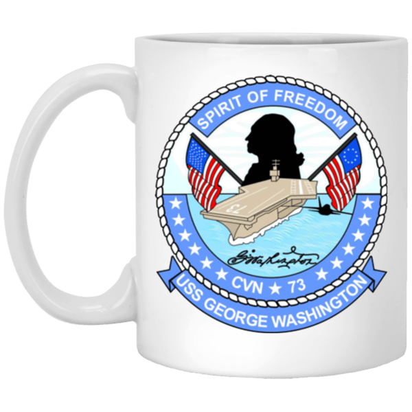 USS George Washington CVN 73 Coffee Mugs