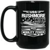 USS RUSHMORE LSD-47 Coffee Mugs