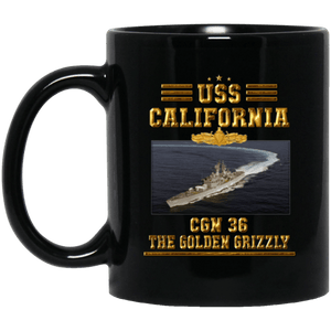 USS California CGN 36 Coffee Mugs