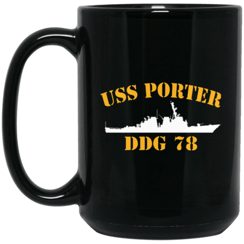 USS PORTER DDG-78 Coffee Mugs