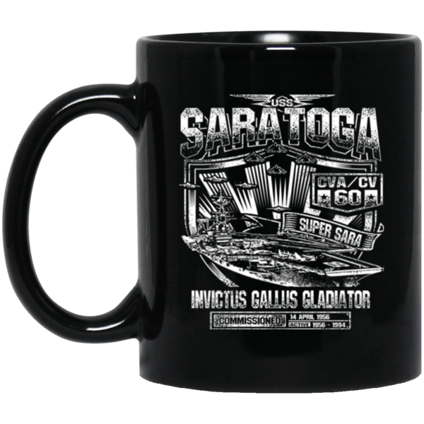 USS SARATOGA CVA/CV 60 Coffee Mugs