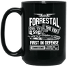 USS FORRESTAL CVA/CV-59 Coffee Mugs