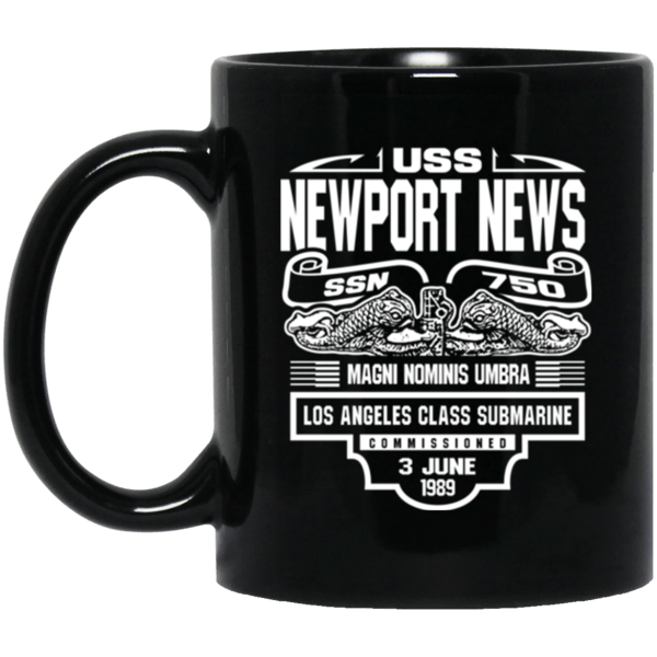 USS NEWPORT NEWS SSN-750 Coffee Mugs