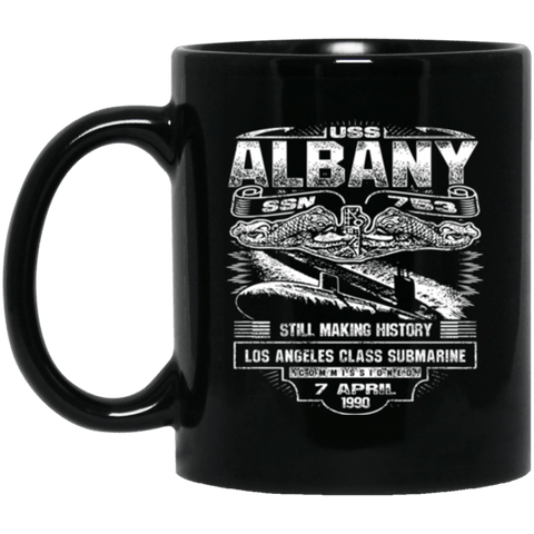 USS ALBANY SSN 753 Coffee Mugs