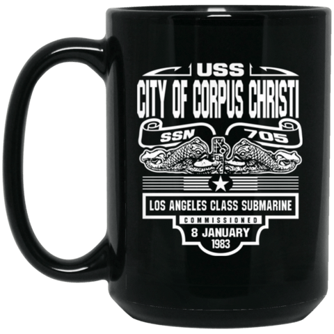 Image of USS CITY OF CORPUS CHRISTI SSN-705 Coffee Mugs