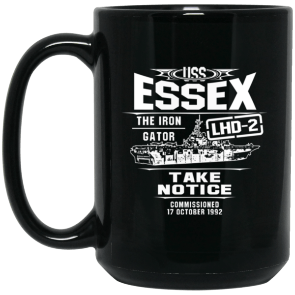 USS ESSEX LHD-2 Coffee Mugs