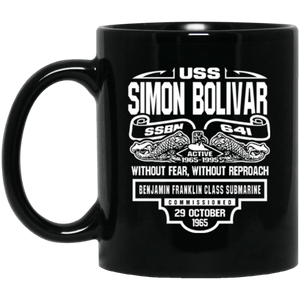 USS SIMON BOLIVAR SSBN-641 Coffee Mugs