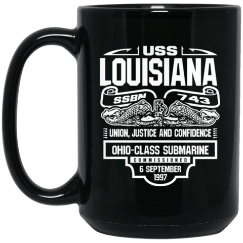 USS LOUISIANA SSBN-743 Coffee Mugs