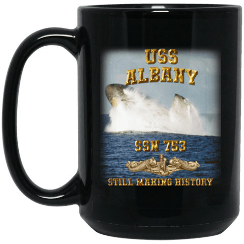 USS Albany SSN 753 Still Making History Coffee Mugs