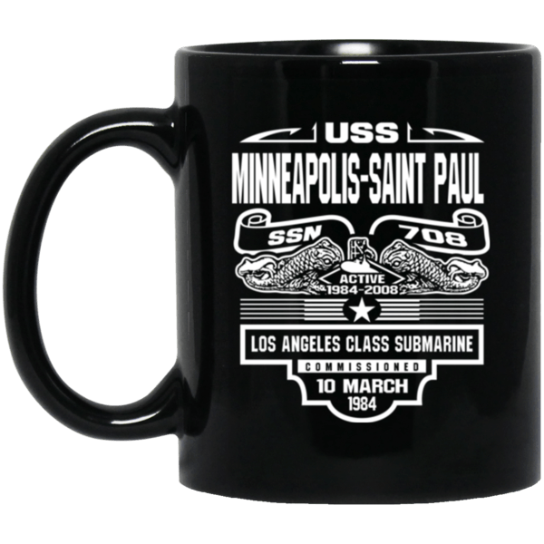 USS MINNEAPOLIS SSN-708 Coffee Mugs