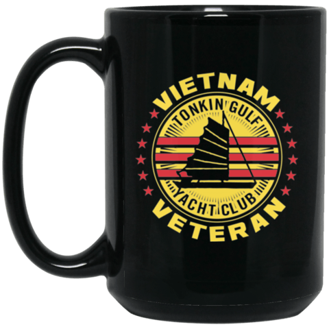 Vietnam Veteran Tonkin Gulf Coffee Mugs