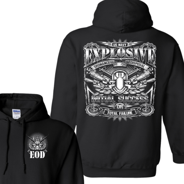 Explosive Ordnance Disposal T Shirts and Hoodies