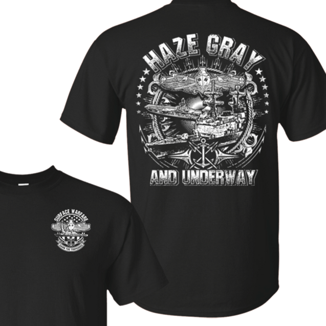 HAZE GRAY AND UNDERWAY T Shirts and Hoodies