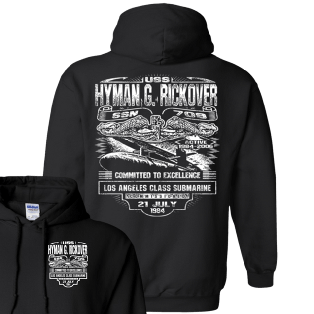 USS HYMAN RICKOVER SSN-709  T Shirts and Hoodies