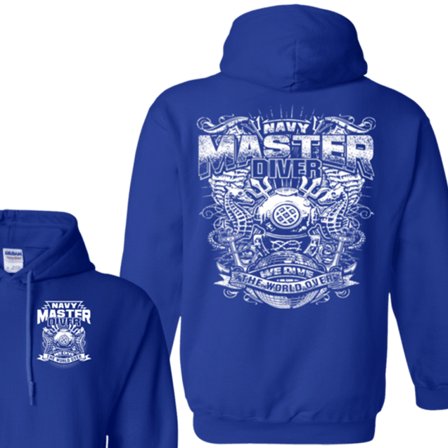 NAVY MASTER DIVER T Shirts and Hoodies