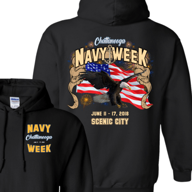 Navy Week in Chattanooga T Shirts and Hoodies