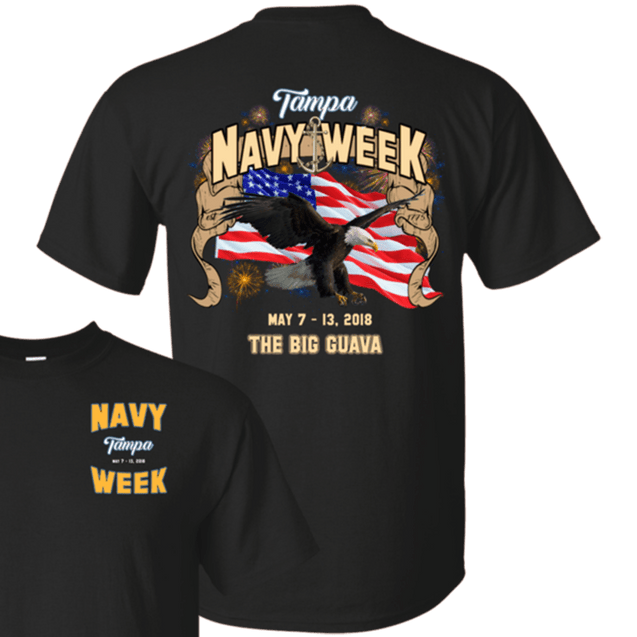 Navy Week in Tampa T Shirts and Hoodies