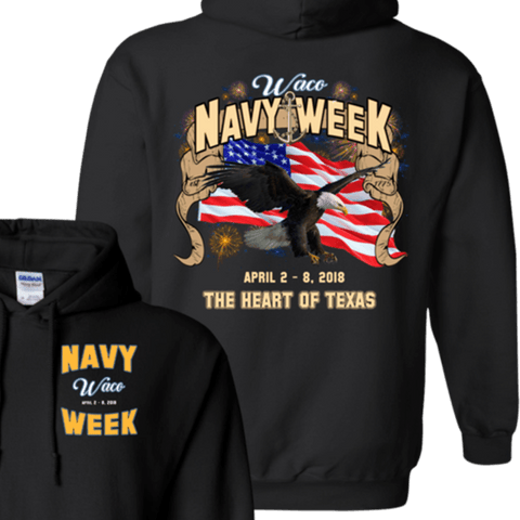 Navy Week in Waco T Shirts and Hoodies