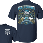 Order of the blue nose – Left Chest and Back – T-Shirt