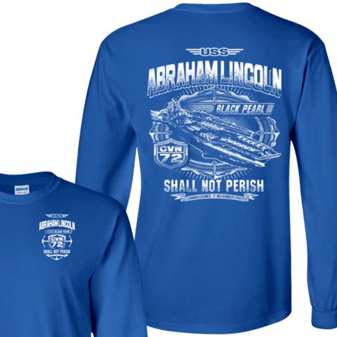 USS ABRAHAM LINCOLN CVN-72 T Shirts and Hoodies