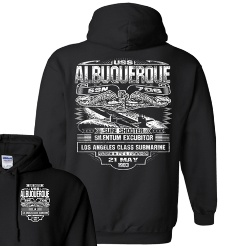 Image of USS ALBUQUERQUE SSN 706 T Shirts and Hoodies