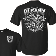 USS Albany CG 10 T Shirts and Hoodies