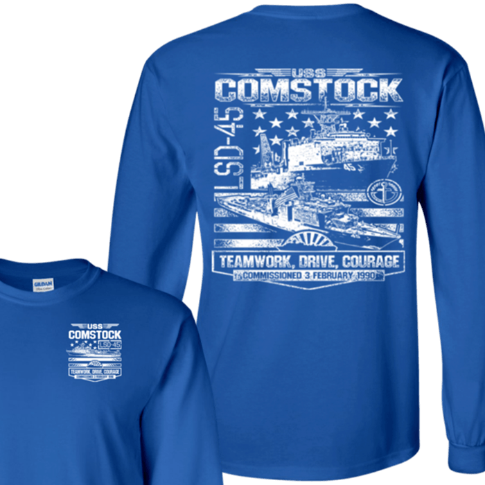 USS COMSTOCK LSD 45 T Shirts and Hoodies