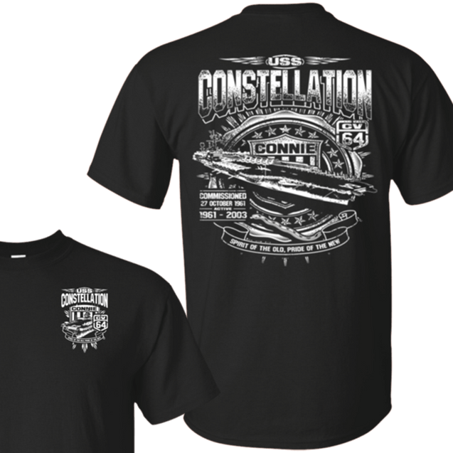 USS CONSTELLATION CV 64 T Shirts and Hoodies