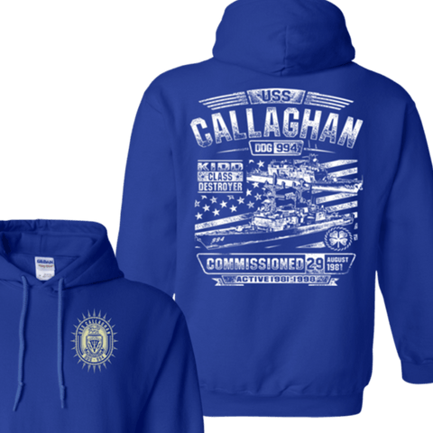 USS Callaghan DDG 994 T Shirts and Hoodies