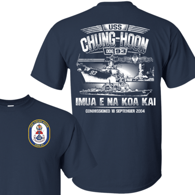 USS Chung- Hoon DDG 93 T Shirts and Hoodies