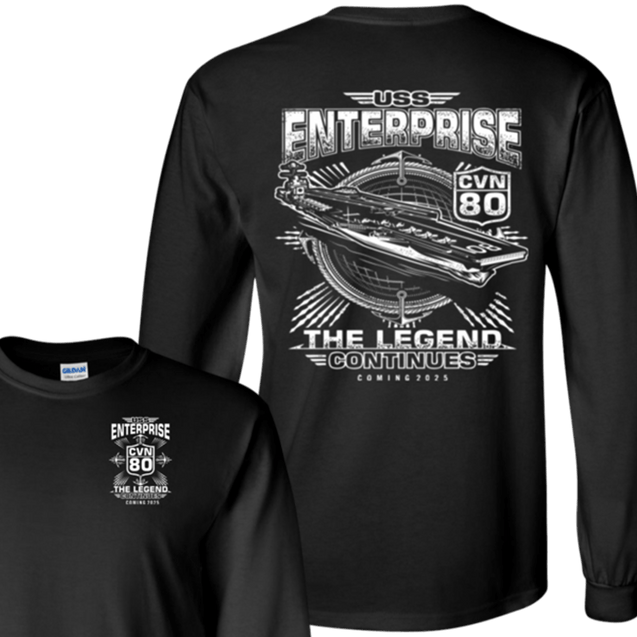 USS Enterprise CVN 80 T Shirts and Hoodies