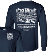 USS GEORGE BANCROFT SSBN 643 – Left Chest and Back – LS T-Shirt