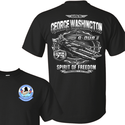 Image of USS George Washington CVN 73 T Shirt